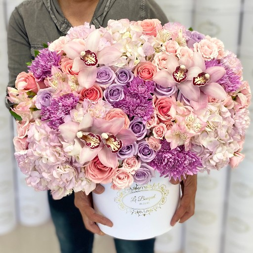 large mixed flowers bouquet orlando