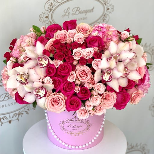 Orlando Pink Flower Arrangement