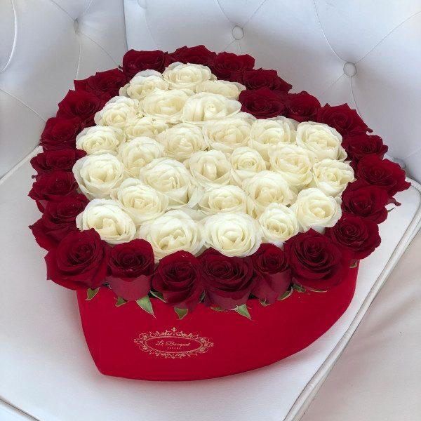 Large Heart Roses Orlando