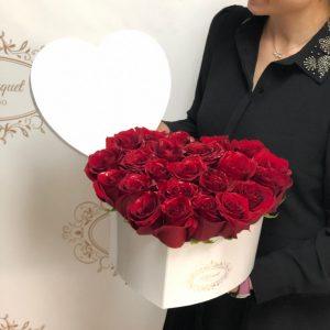 Medium Heart Roses Cover