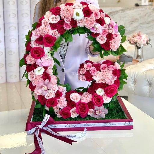 Floral Letter Orlando Florida