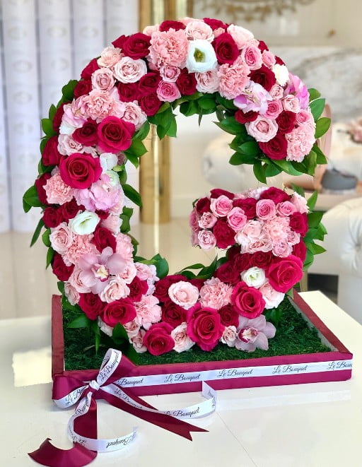Flower Letters Delivery Orlando