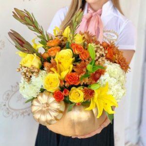 Floral Pumpkins Orlando