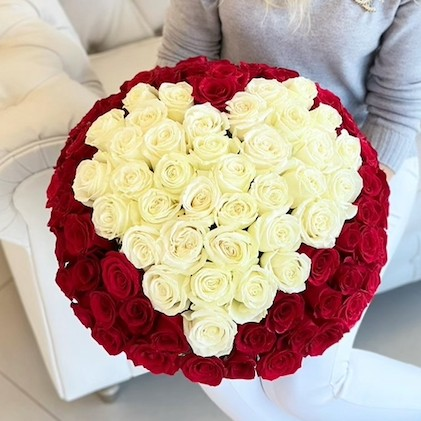 100 roses orlando delivery