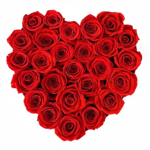 Heart Roses Medium Orlando