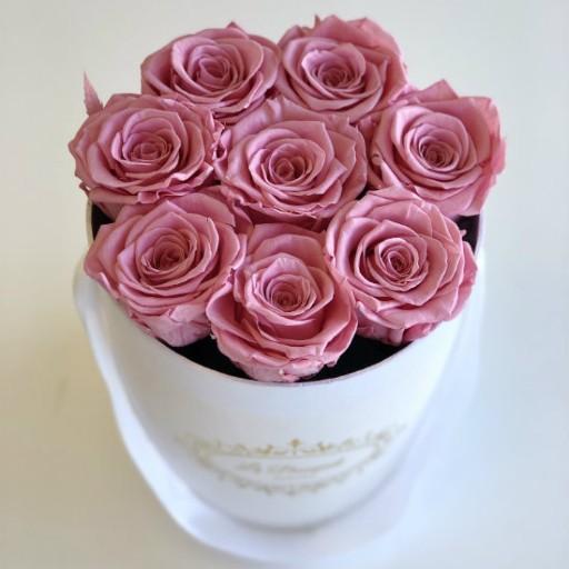 Mini Everlasting Pink Roses Orlando