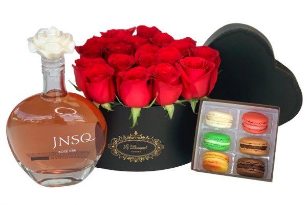 Valentines Wine Roses Orlando
