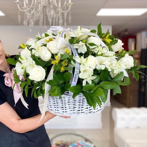 Custom Basket Flowers
