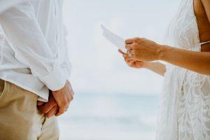 writing your own wedding vows orlando