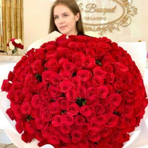 200 Red Roses Orlando