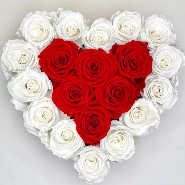 large heart everlasting roses orlando
