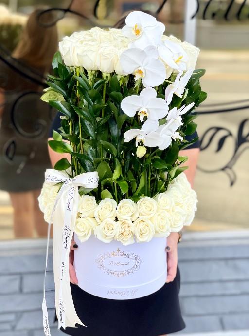 White Floral Arrangement Orlando